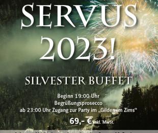 Silvester im Servus 2018